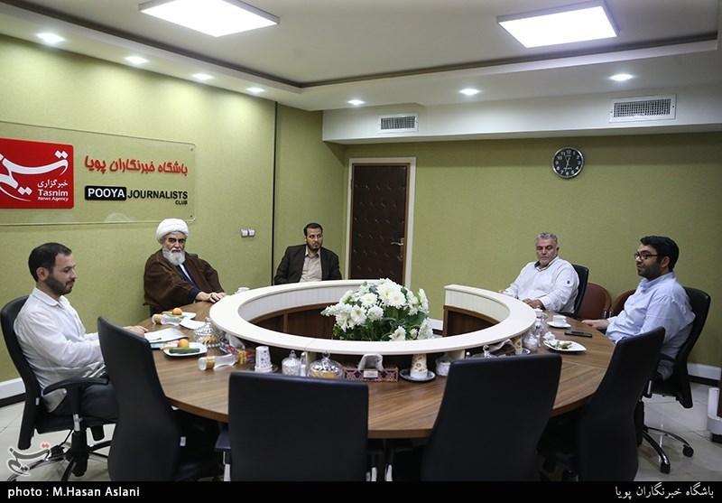 بازدید حجت الاسلام رضا اصلانی از باشگاه خبرنگاران پویا