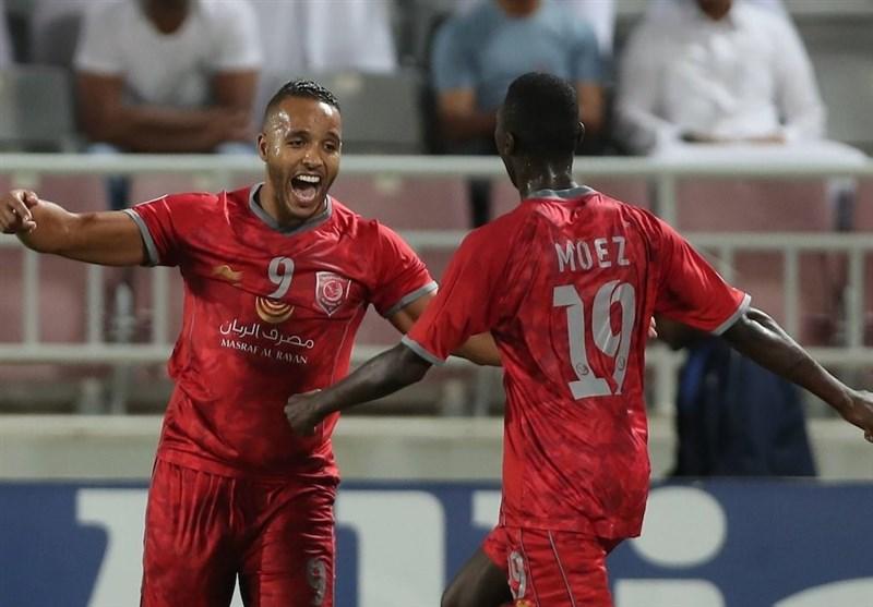 لیگ قهرمانان آسیا شکست یک نیمهای پرسپولیس مقابل الدحیل