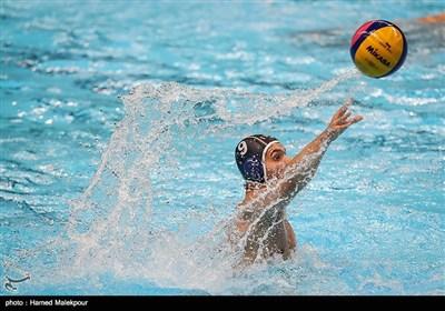 مسابقه واترپلو ایران و قزاقستان - بازیهای آسیایی 2018