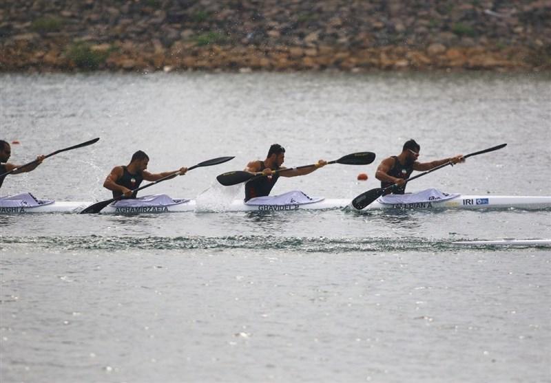 Asian Games: Iran Takes Bronze at Kayak Four (K4) 500m Men