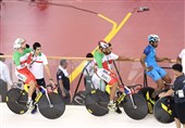 گزارش خبرنگار اعزامی تسنیم از اندونزی  سلگی: امیدوارم دوچرخهسواری هم در روزهای آینده به مدال برسد