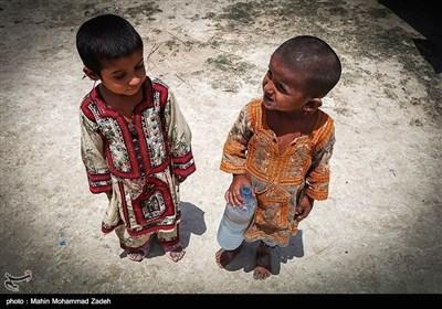 """سیستان و بلوچستان کے 2 مختلف اضلاع """"نگور """" اور """"ریمدان """" میں پانی کی قلت"""