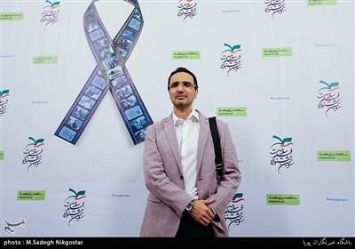 محمد رضا فروتن در اختتامیه سومین جشنواره فیلم سلامت