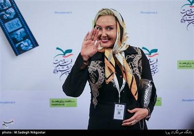 کتایون ریاحی در اختتامیه سومین جشنواره فیلم سلامت
