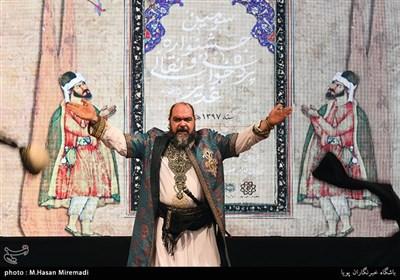 مرشد ابوالفضل ورمرزیار در سومین جشنواره پردهخوانی و نقالی غدیر