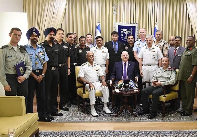 افزایش همکاریهای نظامی هند و رژیم صهیونیستی زنگ خطری برای منطقه