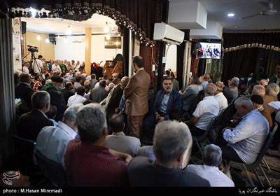 تجلیل از ذاکرین سادات در خانه مداحان