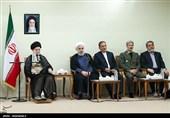 امامخامنهای در دیدار هیئت دولت: مسئولان اقتصادی شب و روز نشناسند/ رئیسجمهور و مجلس در جلسه دیروز ثبات جمهوری اسلامی را نشان دادند