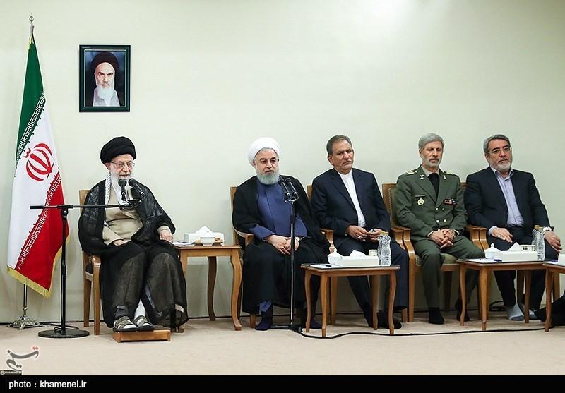 موسع // الإمام الخامنئی: لن یکون هناک تفاوض مع أمریکا على أی مستوى کان