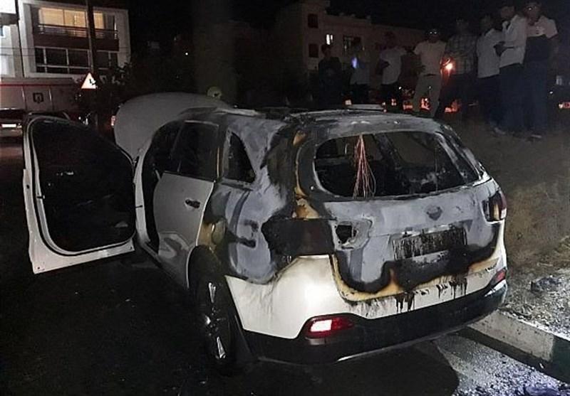"آتشگرفتن بیدلیل یک دستگاه ""کیا اسپورتیج"" + تصاویر"