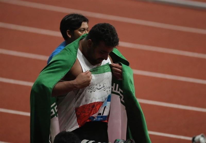 Asian Games: Ehsan Haddadi Claims Iran's 19th Gold
