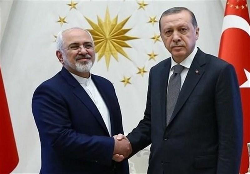 ظریف با رئیس جمهور ترکیه ملاقات کرد