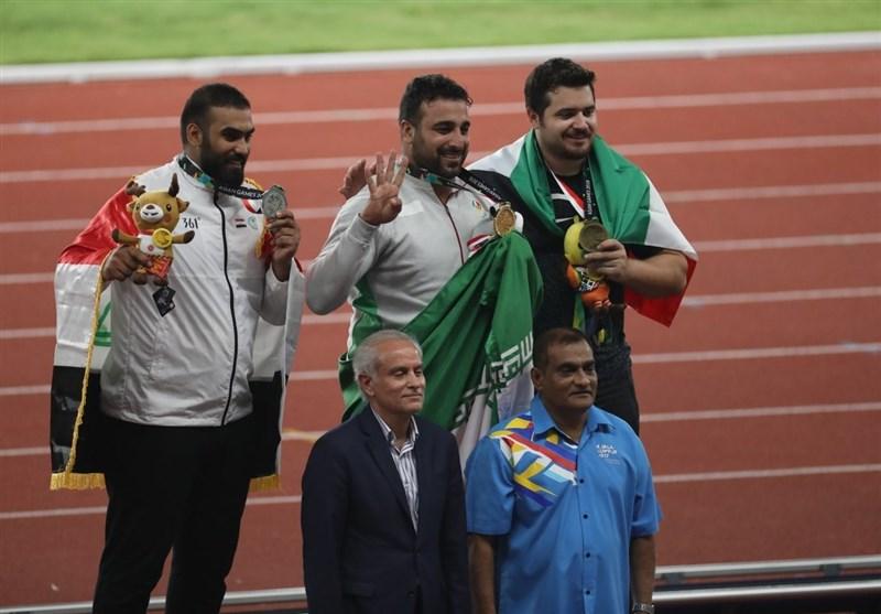 گزارش خبرنگار اعزامی تسنیم از اندونزی  دو طلا و یک برنز حاصل کار ورزشکاران ایران در روز تاریخسازی حدادی + نتایج کامل