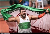 دوومیدانی قهرمانی آسیا  احسان حدادی قهرمان پرتاب دیسک شد/ مدال نقره برای بهنام شیری