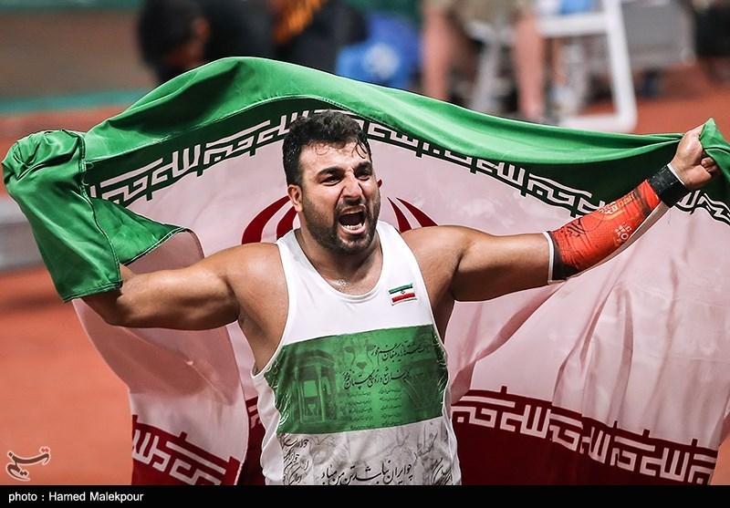 دوومیدانی قهرمانی آسیا| احسان حدادی قهرمان پرتاب دیسک شد/ مدال نقره برای بهنام شیری