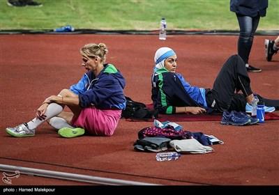 سپیده توکلی در مسابقات پرش ارتفاع - بازیهای آسیایی 2018