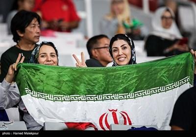 حضور تماشگران ایرانی در مسابقات پرتاب دیسک - بازیهای آسیایی 2018
