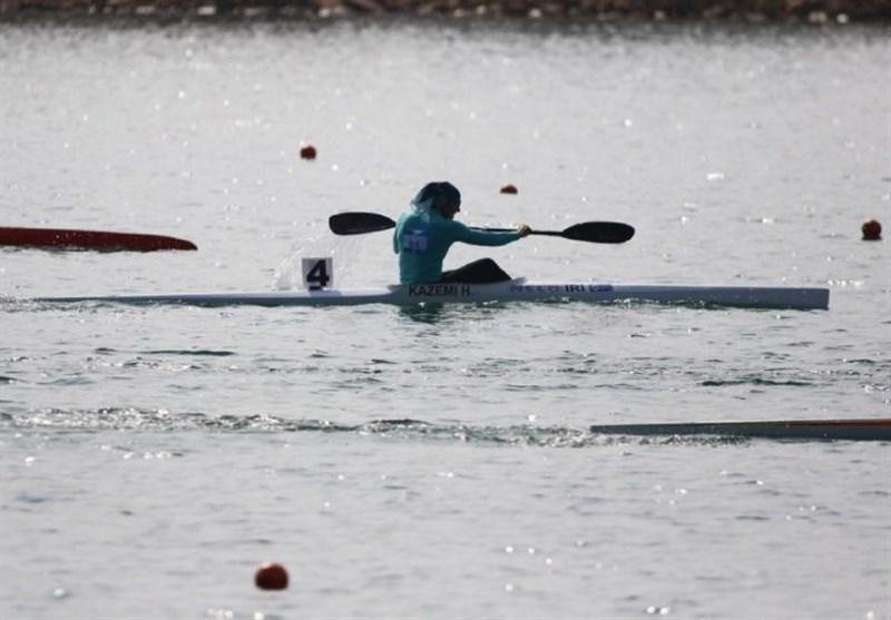 مسابقات انتخابی المپیک آبهای آرام|هدیه کاظمی فینالیست شد