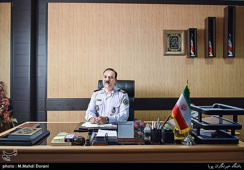 امیر محمود ابراهیمی نژاد فرمانده سازمان جهاد خودکفایی پدافند هوایی خاتم الانبیا(ص) آجا