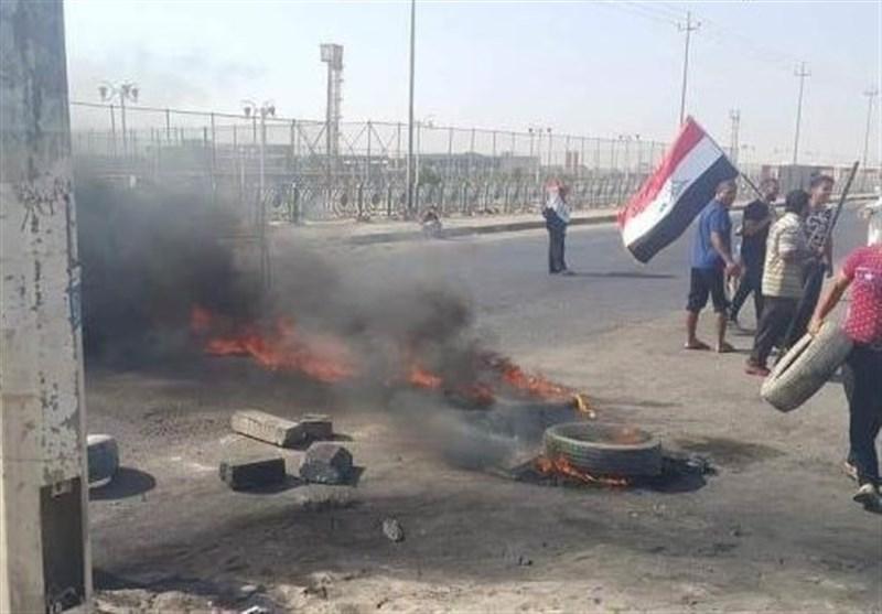 عراق|تظاهرات در بصره در اعتراض به وضعیت نابسامان خدمات دولتی+تصاویر