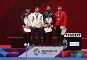Iranian Judoka Barimanlou Wins Bronze at Asian Games