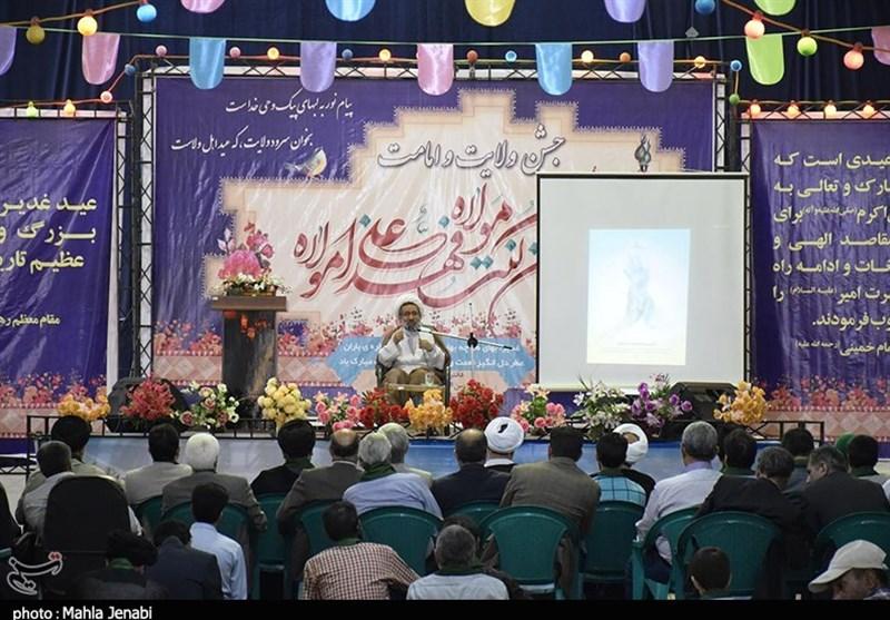 کرمان  جشن غدیر ویژه سادات در کرمان به روایت تصویر