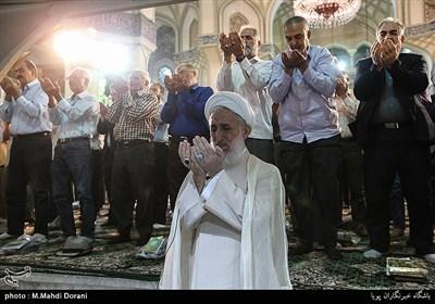 نماز عید سعید غدیر خم در حرم شاه عبدالعظیم حسنی