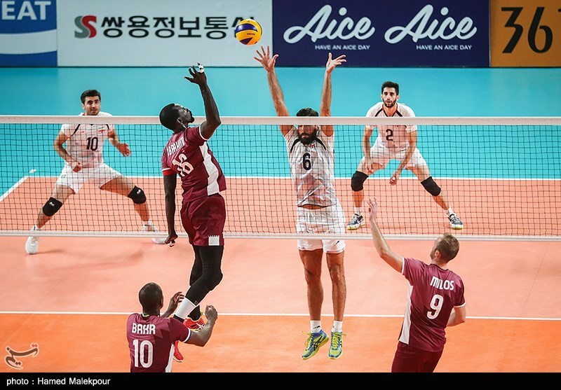 Iran Volleyball Team Eases Past Qatar to Reach Asian Games Final