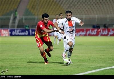 دیدار تیم های فولاد خوزستان و سایپا
