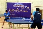 مسابقات تنیس روی میز دانشجویان دانشگاه آزاد در سمنان پایان یافت