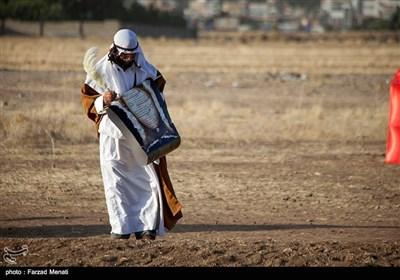 بازسازی واقعه غدیر در کرمانشاه