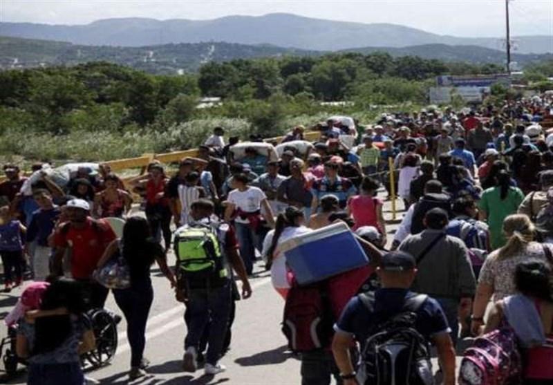 """""""جوار فنزویلا"""" یطالبون بمساعدات أکبر للتعامل مع المهاجرین"""