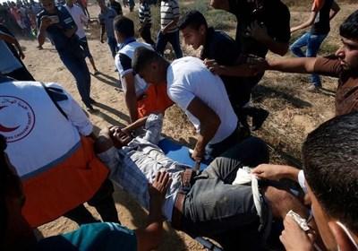 شهیدان فلسطینیان برصاص الاحتلال واصابة 46 خلال مواجهات عند حاجز بیت حانون