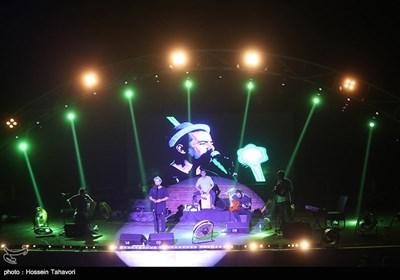 کنسرت گروه پالت در کیش