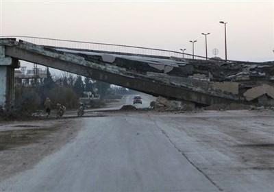 سوریا.. التنظیمات الإرهابیة تفجر جسرین جنوب إدلب