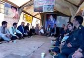 مسئولان استان اردبیل از رزمایش بزرگ محمد رسولالله(ص) 2 بازدید کردند