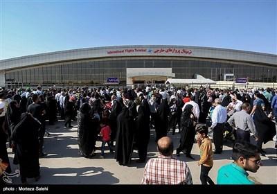 ایرانی حجاج کرام کی وطن واپسی کی خوبصورت تصاویر