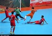 لیگ برتر فوتسال|برتری پرگل گیتی پسند و شکست فرش آرا در خانه