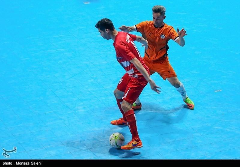 اصفهان| جدال قهرمانان ایران و آسیا در هفته نهم لیگ برتر فوتسال