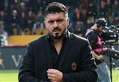فوتبال جهان| گتوسو: با این نتایج باعث شرمساری تاریخ باشگاه میلان میشویم