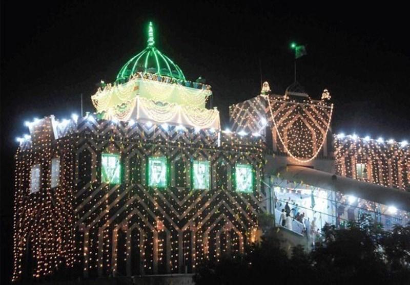 آغاز ویژه برنامههای سالگرد شهادت حضرت عبدالله شاه غازی در کراچی +تصاویر