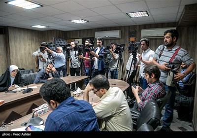 نشست خبری رئیس سازمان بسیج مستضعفین