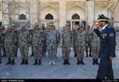 بازدید فرمانده نیروی پدافند هوایی از پروژههای سپر و البرز