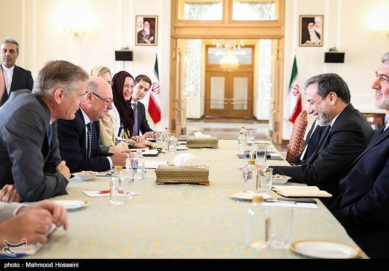 دور جدید گفتگوهای دوجانبه ایران و انگلیس برگزار شد