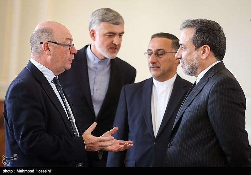 دیدار معاون وزیر خارجه انگلیس با عراقچی
