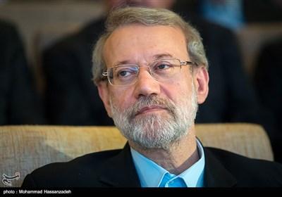 علی لاریجانی رئیس مجلس در نخستین جشنواره ملی تجارب موفق بیمارستانی