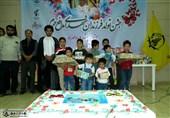 جشن تولد فرزندان شهدای فاطمیون+تصاویر