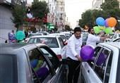 پرچم علوی بر فراز همدان به اهتزاز درآمد؛ همدان در تدارک برپایی جشنهای غدیر