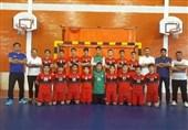 تیم هندبال فرازبام خائیز کهگیلویه قهرمان منطقه 7 نونهالان پسر کشور شد