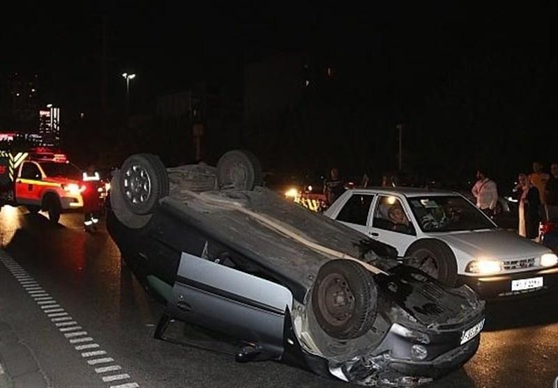 واژگونی سواری پژو در چهارمحال و بختیاری 3 کشته برجای گذاشت